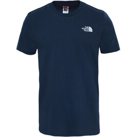 The North Face Simple Dome SS Tee Men Urban Navy/TNF White